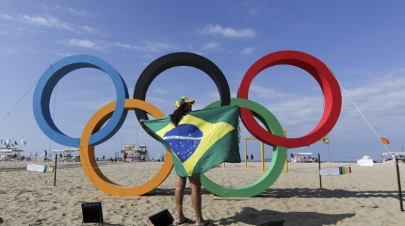 Olympic Rings BR Flag